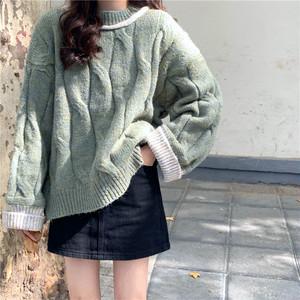 ルーズニットセーター