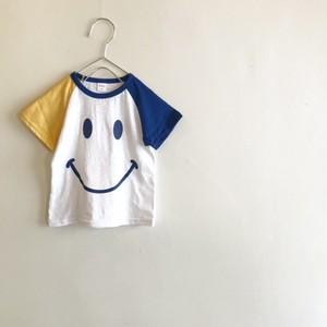 スマイルTシャツ☆イエロー&ブルー