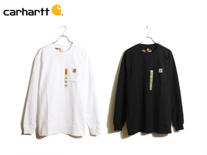 CARHARTT|WORKWEAR POCKET TEE LONG SLEEVE