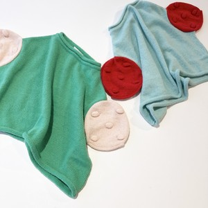 【19AW】フランキーグロウ ( franky grow ) CIRCLE POPCORN KNIT TOPS [ S / M / L ]