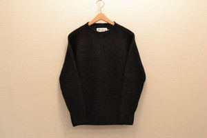 Harley Of Scotland - Chanky Crewneck Sweater (Chacoal)