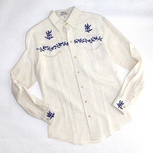 Vintage embroided western shirt