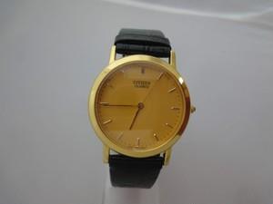 CITIZENシチズン METAL金色 紳士用腕時計 クォーツ