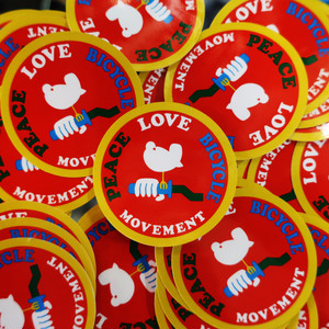 MOVEMENT WOODSTOCK  STICKER