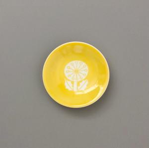 MATSUO MIYUKI X CHABBIT ohana mini plate (YELLOW)