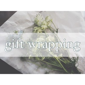 ◇Gift wrapping◇