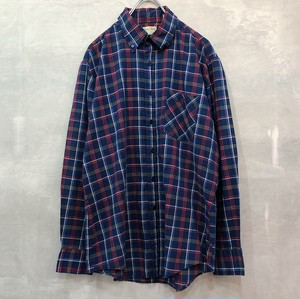plaid shirt L/S #846