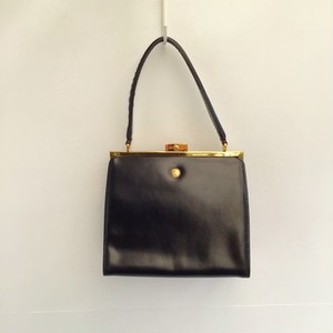 GIANNI VERSACE patent leather hand bag