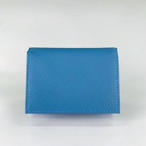 三つ折り財布(プリズム型押革)
