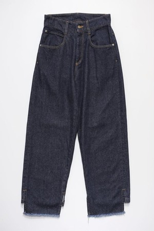 COVER UP LOOSE JEANS (INDIGO)