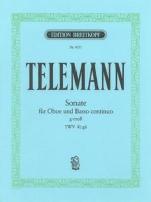 テレマン:ソナタ ト短調 TWV 41:g6 / オーボエ・ピアノ