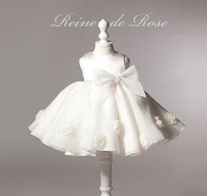 8377ドレス キッズ ベビー 女の子ドレス フォーマルドレス 赤ちゃん 出産祝い お宮参り 新生児 ワンピース 白 3M6M12M24M-150cm