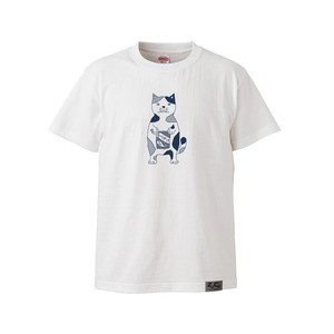 【Tシャツ】ネコおっさん ふりかけ