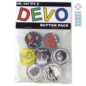 DEVO ディーボ オフィシャル 缶バッジ7コセット