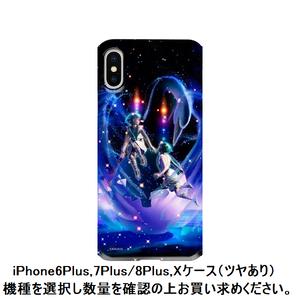 iPhone6Plus,7Plus/8Plus,Xケース(ツヤあり):ジェミニ(双子座)03_gemini(kagaya)