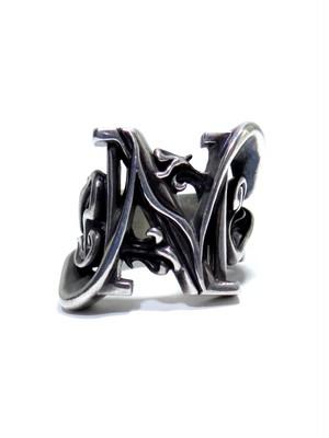 alphabet ring#N (silver925) - アルファベットモチーフ リングN-