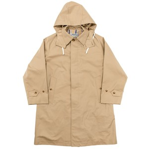 WORKERS / Bal Collar Coat Gabardine, Beige