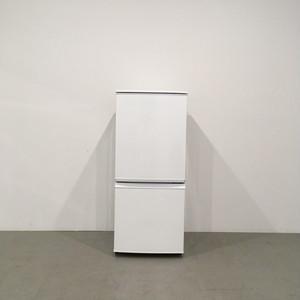 【極美品】シャープ 2ドア冷蔵庫 SJ-14Y-W 2014年製 ホワイト つけかえどっちもドア