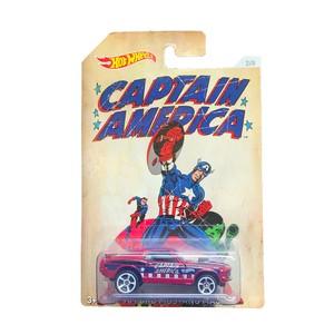 Hot Wheels ホットウィール 1/64 70 FORD MUSTANG MACH1 CAPTAIN AMERICA