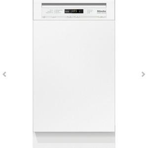 ミーレ 食器洗い機 G 4720 SCI(ホワイト/45CM)ドア材取付専用タイプ