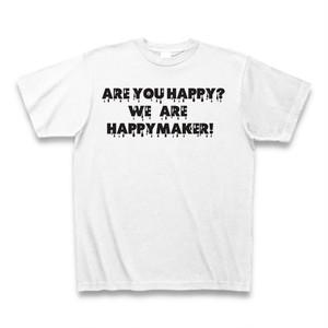 ARE YOU HAPPY!! Tシャツ (送料無料)