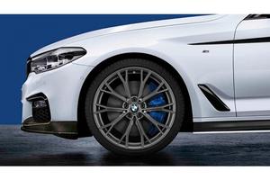 BMW純正 ///M Performance LM ホイール M ダブルスポーク 669M 20インチ ORBITGREY  5シリーズ G30 G31