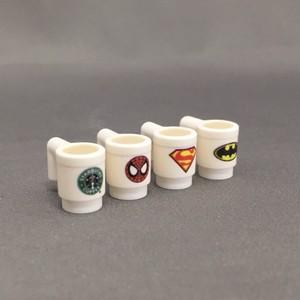 LEGO レゴ プリントマグカップ ハンドメイド(全7タイプ)