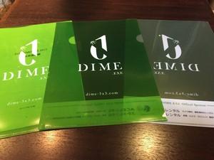 TOKYO DIME オリジナルクリアファイル