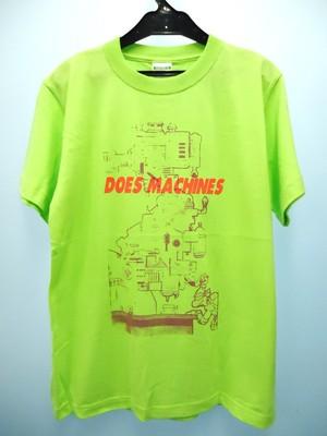タートルズ・ドナテロ狂機械Tシャツ