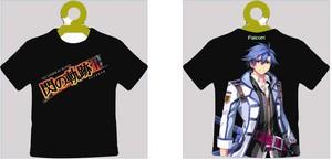 閃の軌跡ⅢTシャツ型キーチェーン(ブラック)