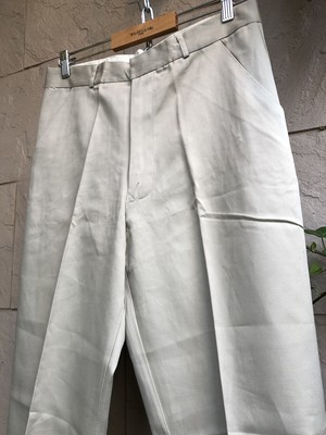 Deadstock Old British khaki trousers