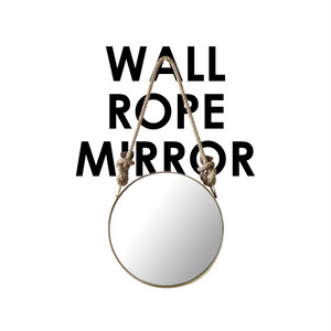 "Wall Rope Mirror ""Round"""