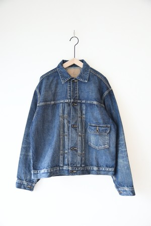 【Re:ORDINARY】DENIM JACKET 1year/J001