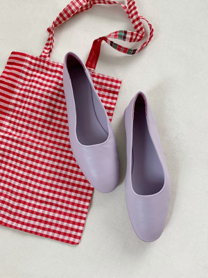 WANDERUNG  Leather flat shoes