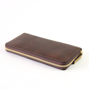 エゾシカレザー長財布