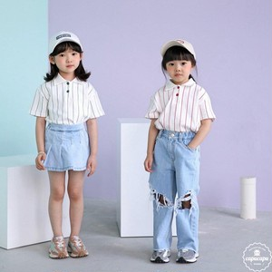 «sold out» bubble kiss stripe polo T ストライプポロシャツ