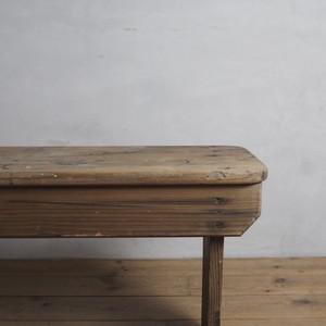 Bench / ベンチ 〈ダイニング・アパレル・店舗什器・植物〉2904-0317