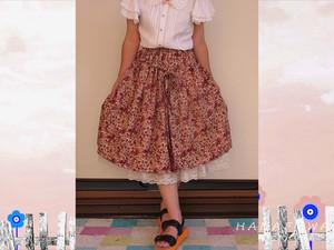 薔薇達のスカート