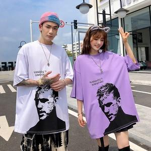 【トップス】ペアルック図柄プリントハンサムファッションTシャツ30640741