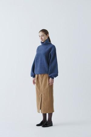 Wool Felt Peasant Sleeve Knit