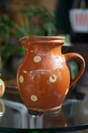 French Dot Pitcher