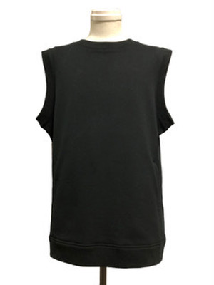 OVER SIZE FUNCTIONAL VEST - BLACK -