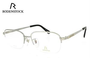 ローデンストック 眼鏡 (メガネ) 日本製 RODENSTOCK R0202 B チタン ナイロール [ メンズ 男性用 眼鏡 ]
