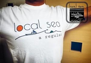 local seaTシャツ!バックプリントあり!