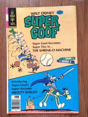 USED COMICS「SUPER GOOF」WALT DISNEY グーフィー