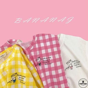 «予約» banana j check T 3color Tシャツ