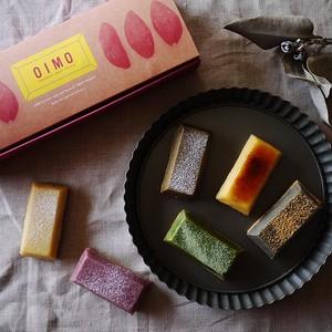 生スイートポテト 6個ボックス(プレーン・ブリュレ・紅いも・黒ごまきな粉・抹茶・ほうじ茶)