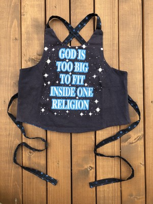 GOD IS TO BIG…☆USED Tシャツ リメイク トップス