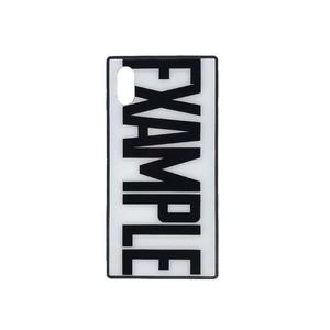 EXAMPLE LOGO iPhone CASE /WHITE