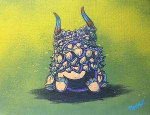 kaiju POGOLA canvas 『sleep』